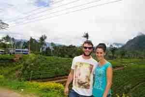 nosotros y los campos de té