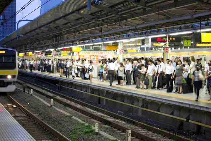 estaciones de tren en Tokyo