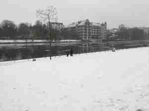 bordeando el rio Spree