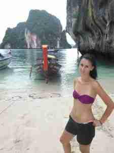 Angela en Paradise Island
