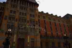 grand hotel de San Pellegrino