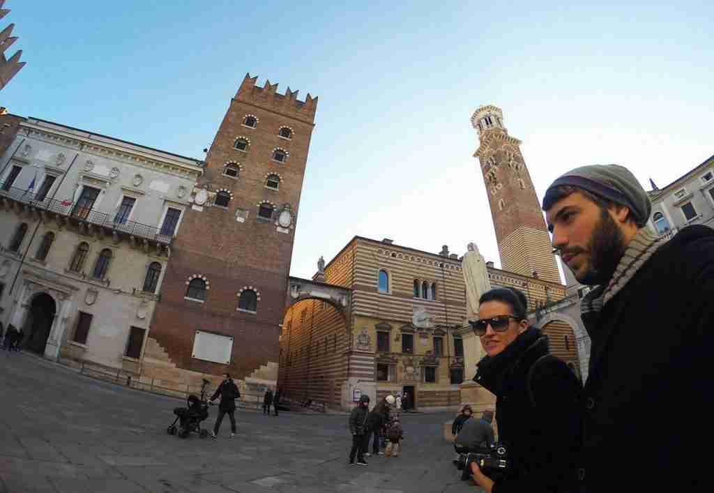 paseando por Verona en Navidad