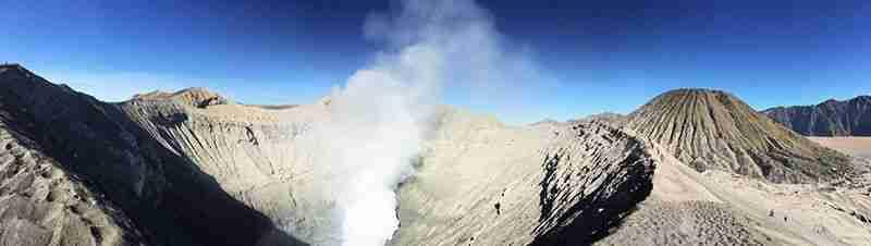 panoramica desde la caldera