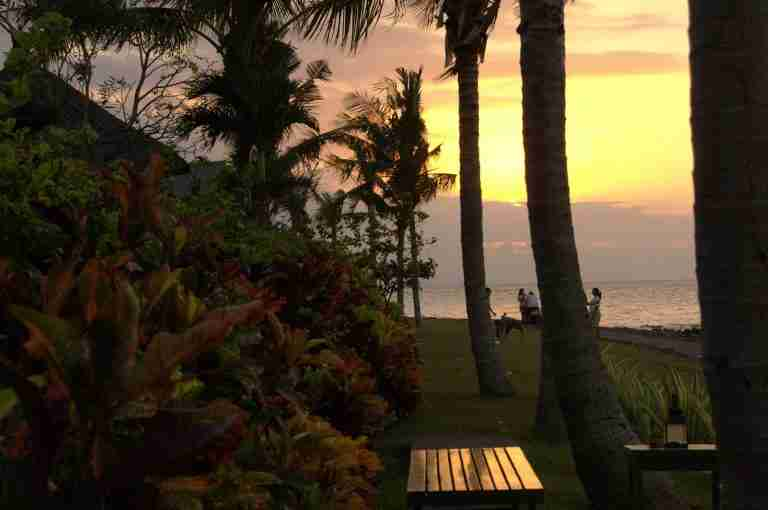 atardecer en el norte de Bali