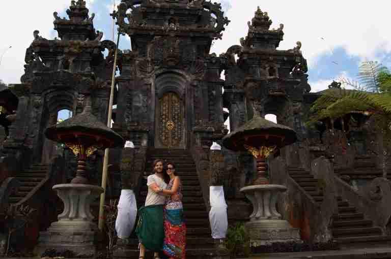 Impresionante el templo Pura Besakih y sus vistas