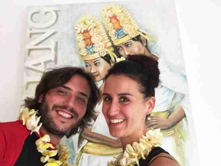 recien llegados a Bali!