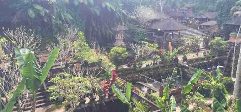 Vistas del Pura Gunung Kawi