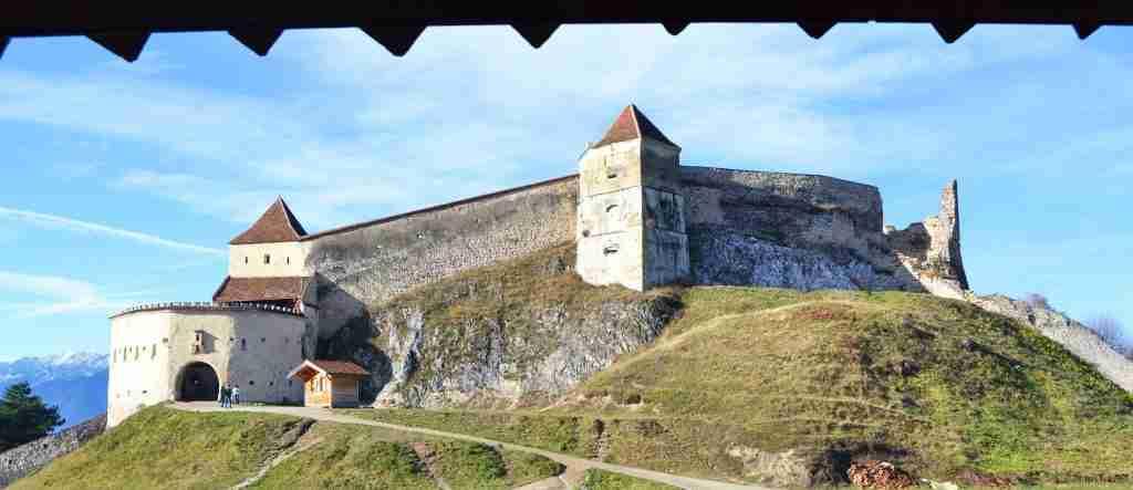 fortaleza Rasnov en Transilvania