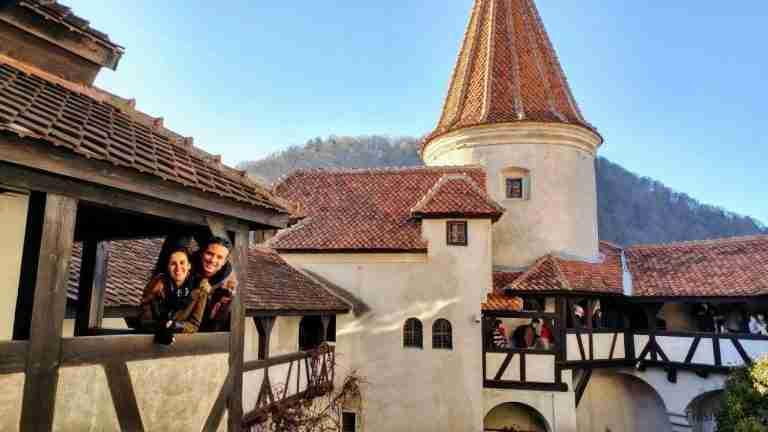 castillo de Dracula en Transilvania