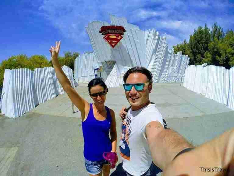 A subirnos al Superman!