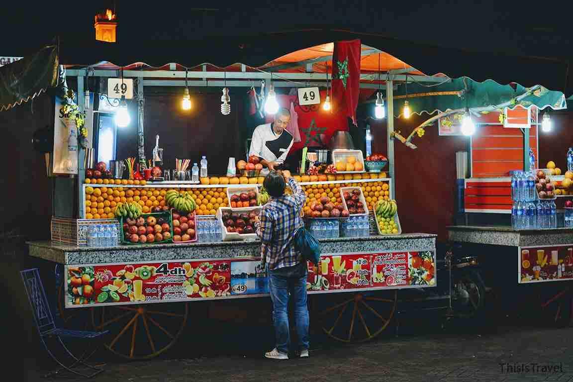 zumo de Marrakech