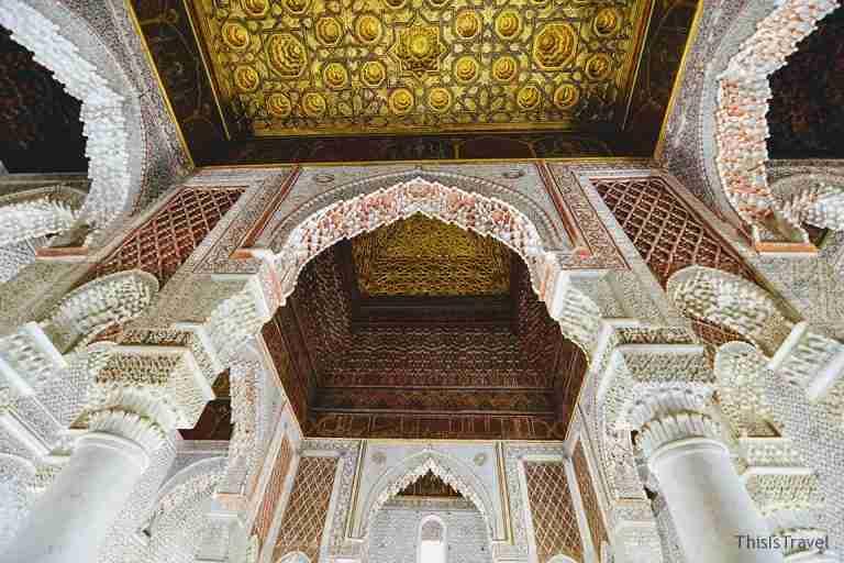 tumbas saadies Marrakech