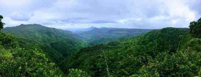 mirador Black River Gorges National Park