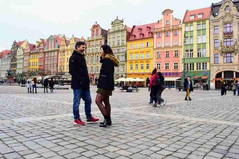 Plaza del mercado en Breslavia