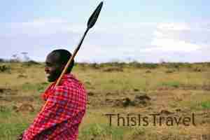 nuestro guia masai Williams