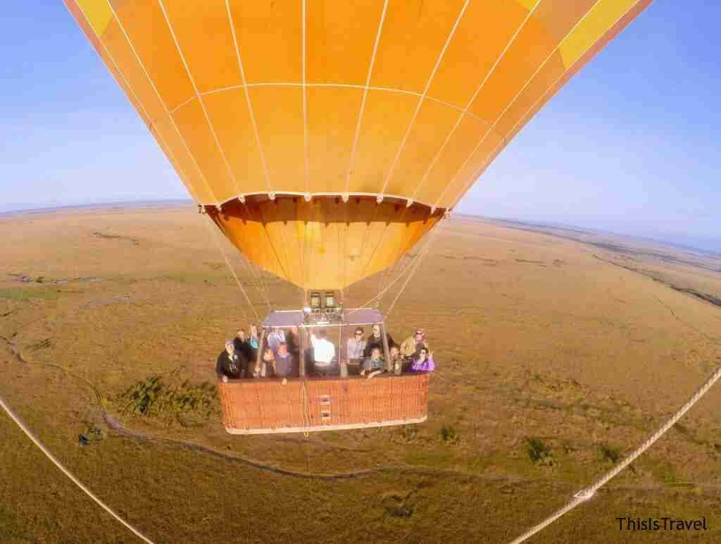 sobrevolando Kenia