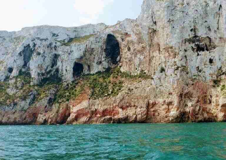 acantilados de Javea, Alicante