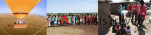 resumen dia mañana en Masai Mara: globo y visita poblado masai