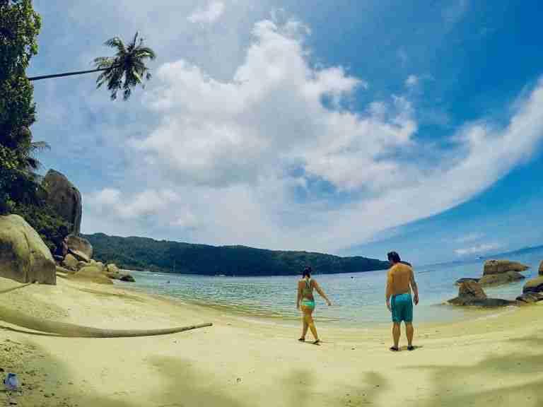 Perhentian Besar, una playa solitaria para dos