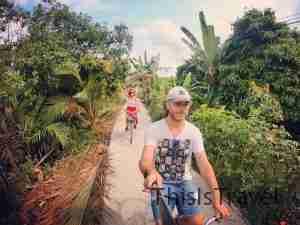 Con bici por Can Tho