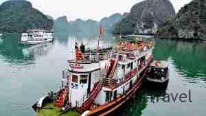 Nuestro crucero en Ha Long Bay, Vietnam